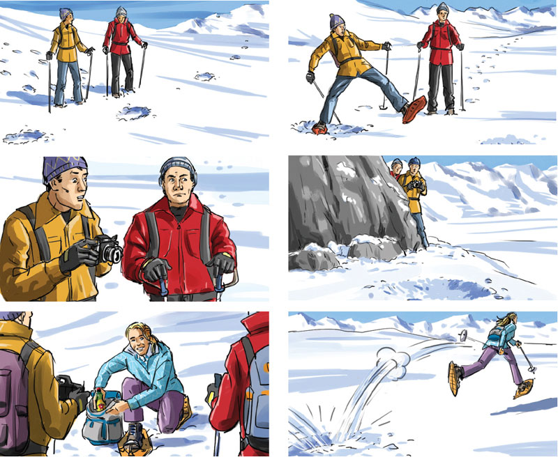 Marco Schaaf, Swiss Illustrator, Creates Storyboard For Tv Spot
