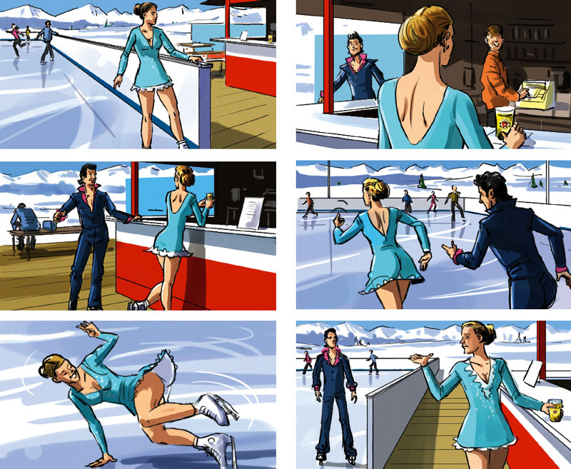 Marco Schaaf Illustrator Creates Storyboard For Tv Spot For Planet